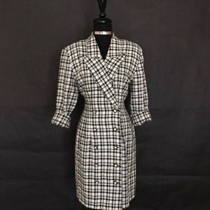 La Belle Dresses - LaBelle Brand Checkered Dress